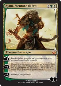 Ajani, Mentore di Eroi / Ajani, Mentor of Heroes