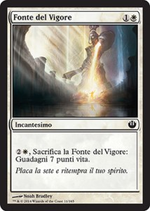 Fonte del Vigore / Font of Vigor