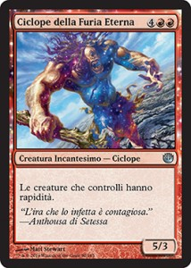 Ciclope della Furia Eterna / Cyclops of Eternal Fury