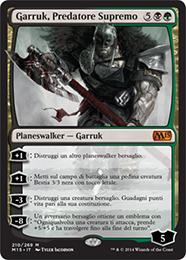 Garruk, Predatore Supremo