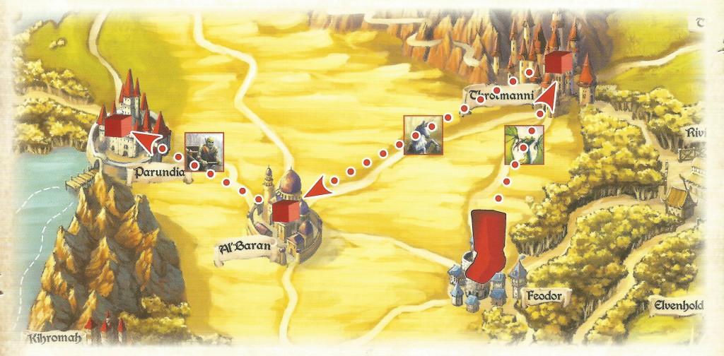 Esempio di viaggio a Elfenland