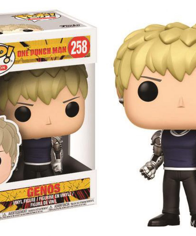 ONE PUNCH MAN – POP FUNKO VINYL FIGURE 258 GENOS 9CM