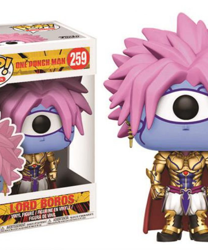 ONE PUNCH MAN – POP FUNKO VINYL FIGURE 259 LORD BOROS 9CM