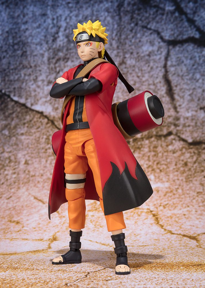 58686 – NARUTO – SAGE MODE ADVANCED VERSION – SH FIGUARTS 14CM