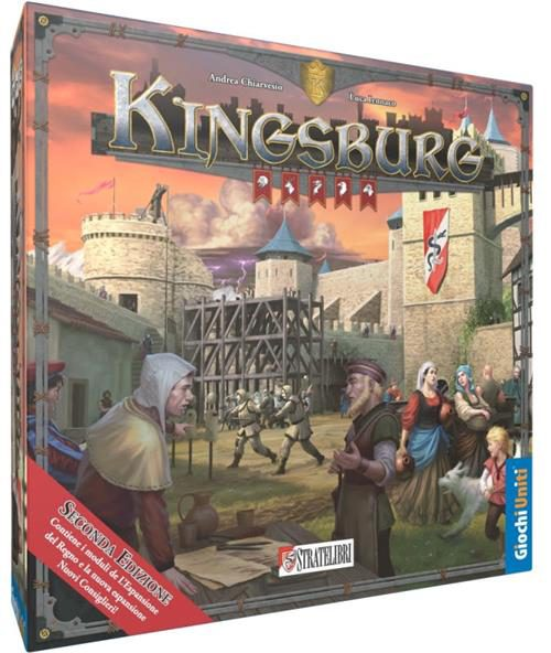 KINGSBURG NUOVA EDIZIONE