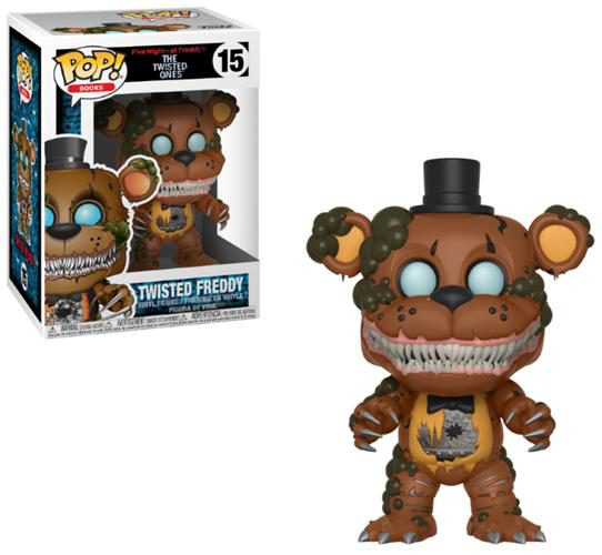 FIVE NIGHTS AT FREDDY'S (THE TWISTED ONES) – POP FUNKO VINYL FIGURE 15 TWISTED FREDDY 9CM – LONDON TOY FAIR REVEALS 2018