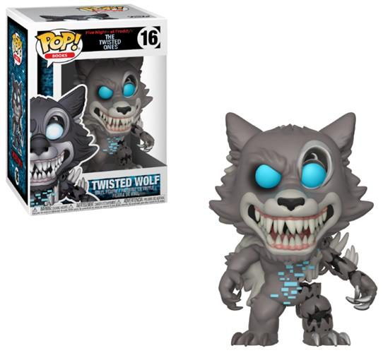 FIVE NIGHTS AT FREDDY'S (THE TWISTED ONES) – POP FUNKO VINYL FIGURE 16 TWISTED WOLF 9CM – LONDON TOY FAIR REVEALS 2018