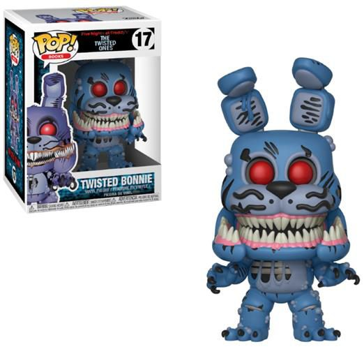 FIVE NIGHTS AT FREDDY'S (THE TWISTED ONES) – POP FUNKO VINYL FIGURE 17 TWISTED BONNIE 9CM – LONDON TOY FAIR REVEALS 2018