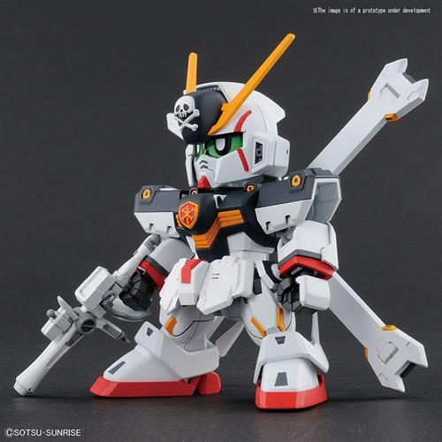 60582 – SD CROSS SILHOUETTE GUNDAM CROSSBONE X1