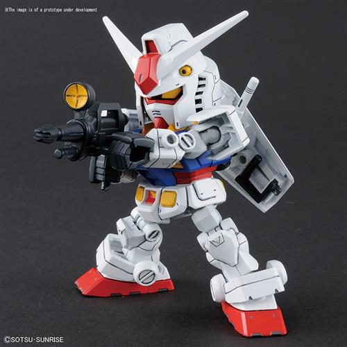60585 – SD CROSS SILHOUETTE RX-78-2 & CRS FRAME