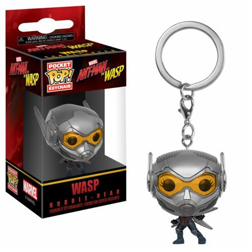 ANT-MAN & THE WASP – POP FUNKO VINYL KEYCHAIN WASP 4CM