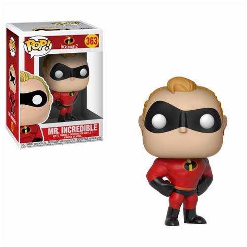 DISNEY GLI INCREDIBILI 2 – POP FUNKO VINYL FIGURE 363 MR INCREDIBLE 9CM