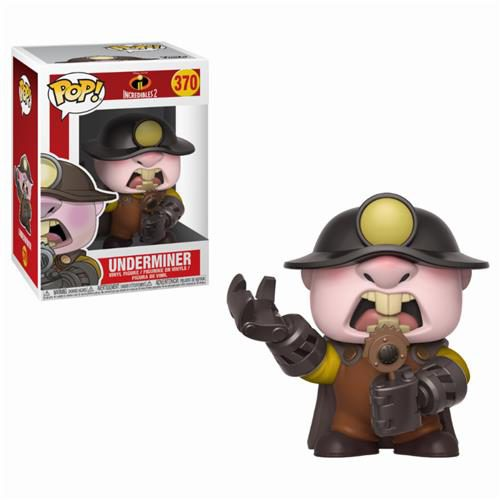 DISNEY GLI INCREDIBILI 2 – POP FUNKO VINYL FIGURE 370 UNDERMINER 9 CM
