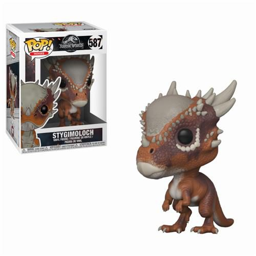 JURASSIC WORLD FALLEN KINGDOM POP FUNKO VINYL FIGURE 587 STYGIMOLOCH 9CM
