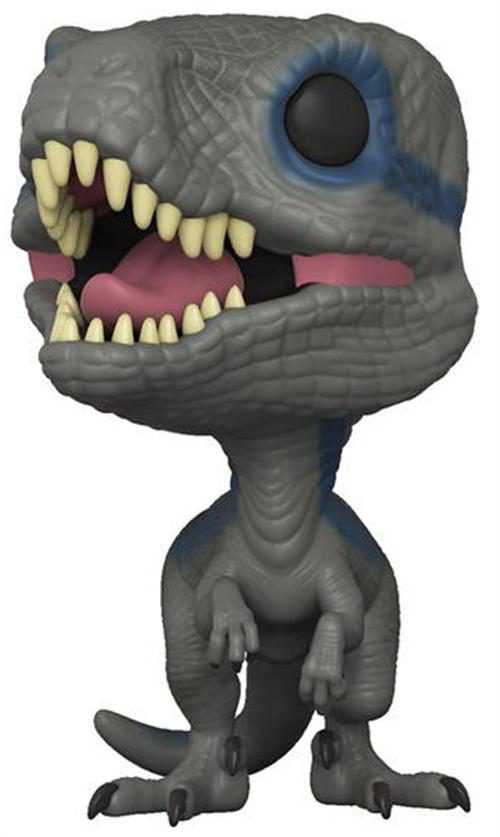 JURASSIC WORLD FALLEN KINGDOM – POP FUNKO VINYL FIGURE BLUE (NEW POSE) 9CM – NEW YORK TOY FAIR