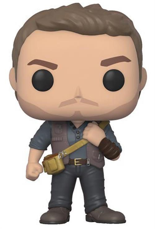 JURASSIC WORLD FALLEN KINGDOM – POP FUNKO VINYL FIGURE OWEN 9CM – NEW YORK TOY FAIR