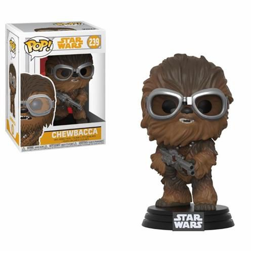 STAR WARS SOLO – POP FUNKO VINYL FIGURE 239 CHEWBACCA WITH GOGGLES 9 CM