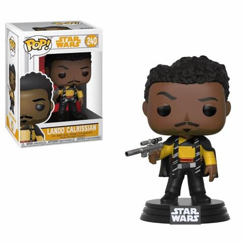 STAR WARS SOLO – POP FUNKO VINYL FIGURE 240 LANDO CALRISSIAN 9 CM