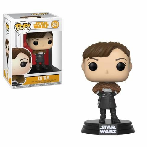 STAR WARS SOLO – POP FUNKO VINYL FIGURE 241 QI'RA 9 CM