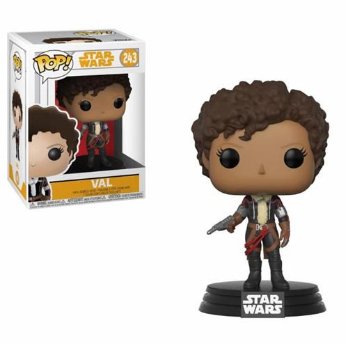 STAR WARS SOLO – POP FUNKO VINYL FIGURE 243 VAL 9 CM