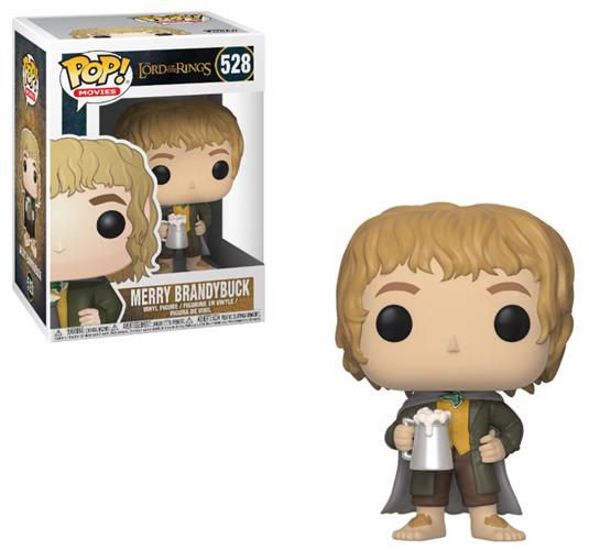 THE LORD OF THE RINGS – POP FUNKO VINYL FIGURE 528 MERRY BRANDYBUCK 9CM