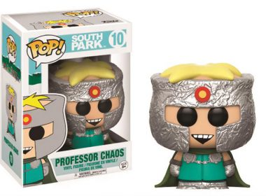 SOUTH PARK – POP FUNKO VINYL FIGURE 10 PROFESSOR CHAOS 9CM