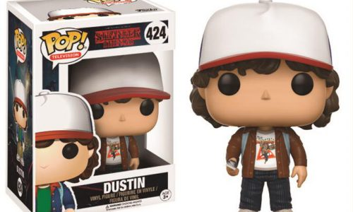 STRANGER THINGS – POP FUNKO VINYL FIGURE 424 DUSTIN VARIANT LIMITED