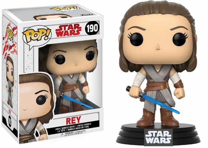 STAR WARS THE LAST JEDI – POP FUNKO VINYL FIGURE 190 REY
