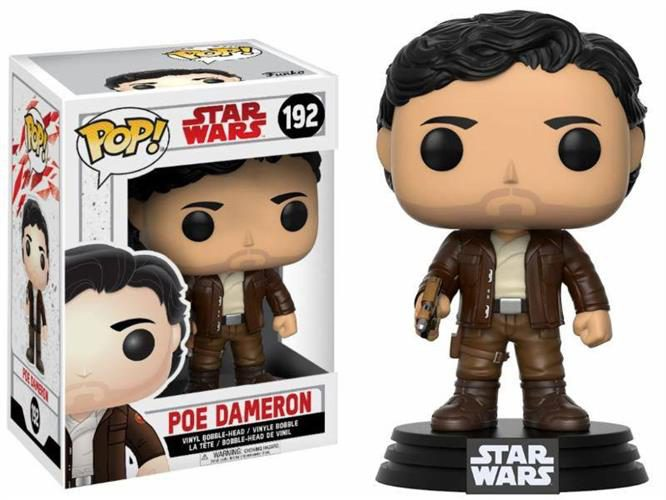 STAR WARS THE LAST JEDI – POP FUNKO VINYL FIGURE 192 POE DAMERON