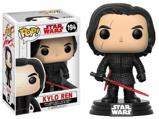 STAR WARS THE LAST JEDI – POP FUNKO VINYL FIGURE 194 KYLO REN