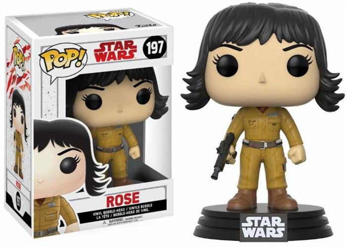 STAR WARS THE LAST JEDI – POP FUNKO VINYL FIGURE 197 ROSE