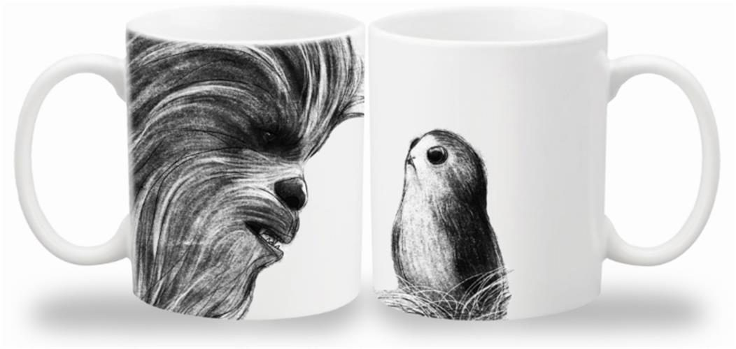 STAR WARS THE LAST JEDI – TAZZA CHEWBACCA & PORG