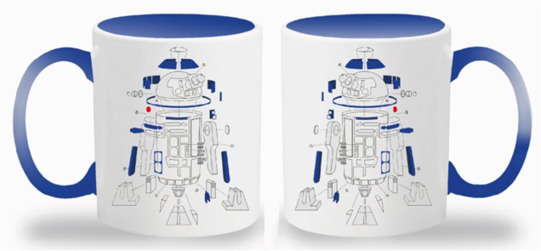 STAR WARS THE LAST JEDI – TAZZA EXPLODED VIEW R2-D2