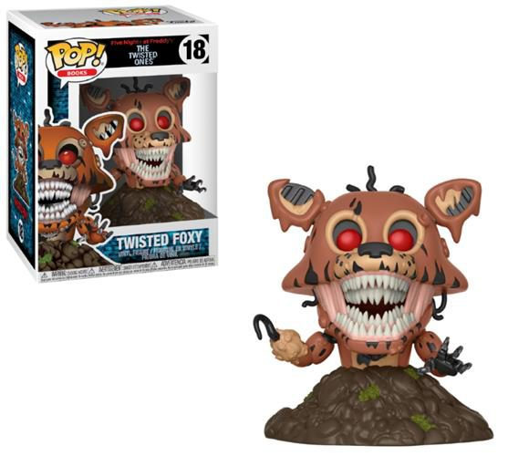 FIVE NIGHTS AT FREDDY'S (THE TWISTED ONES) – POP FUNKO VINYL FIGURE 18 TWISTED FOXY 9CM – LONDON TOY FAIR REVEALS 2018