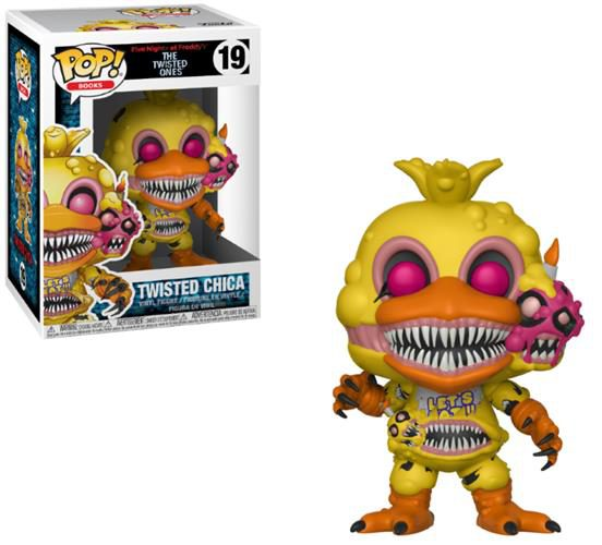 FIVE NIGHTS AT FREDDY'S (THE TWISTED ONES) – POP FUNKO VINYL FIGURE 19 TWISTED CHICA 9CM – LONDON TOY FAIR REVEALS 2018
