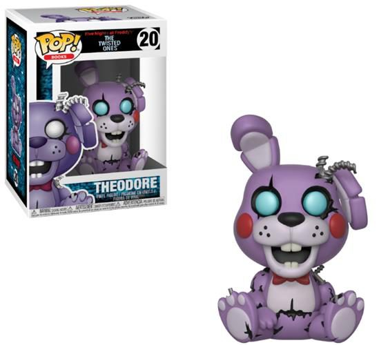 FIVE NIGHTS AT FREDDY'S (THE TWISTED ONES) – POP FUNKO VINYL FIGURE 20 TWISTED THEODORE 9CM – LONDON TOY FAIR REVEALS 2018