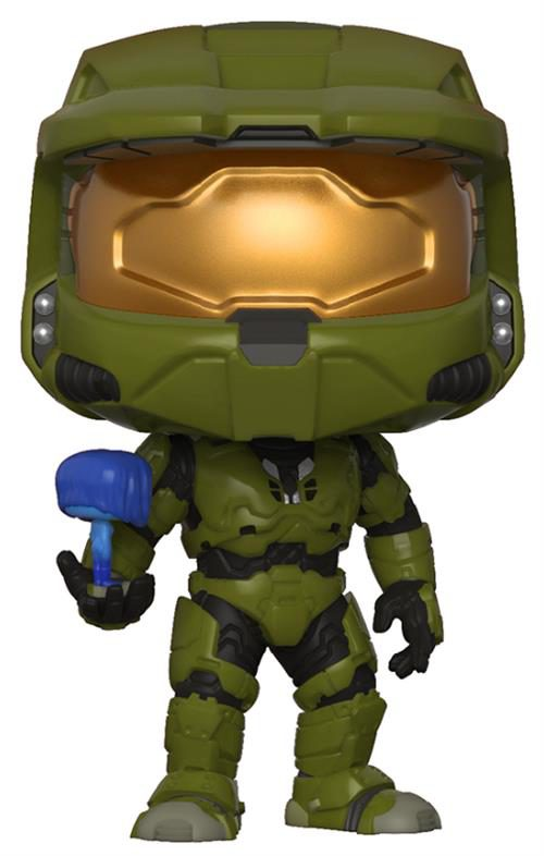 HALO – POP FUNKO VINYL FIGURE MASTER CHIEF WITH CORTANA 9CM – LONDON TOY FAIR REVEALS 2018
