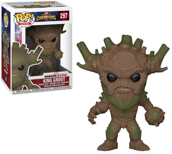 MARVEL – CONTEST OF CHAMPIONS – POP FUNKO VINYL FIGURE 297 KING GROOT 9CM