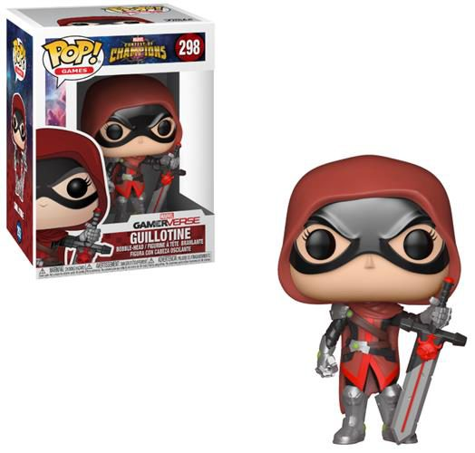 MARVEL – CONTEST OF CHAMPIONS – POP FUNKO VINYL FIGURE 298 GUILLOTINE 9CM