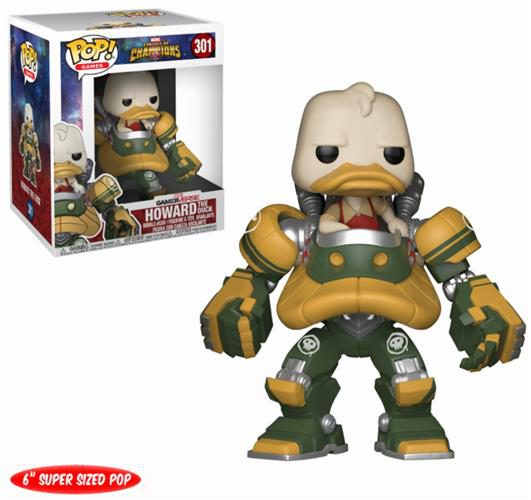 MARVEL – CONTEST OF CHAMPIONS – POP FUNKO VINYL FIGURE 301 HOWARD THE DUCK 15CM